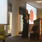 London 2018 - Nadine Powrie Speaking Engagement