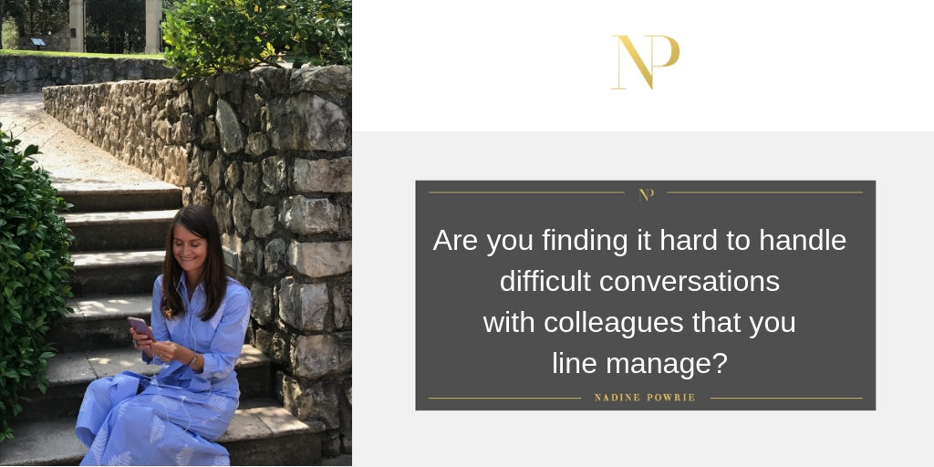 Are you finding it hard to handle difficult conversations?