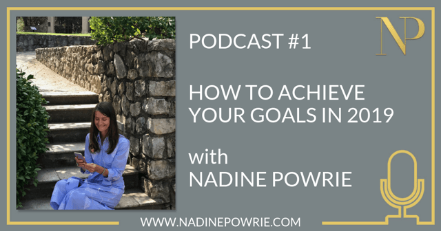 #1 How to start putting in place strategies now to achieve your goals next year