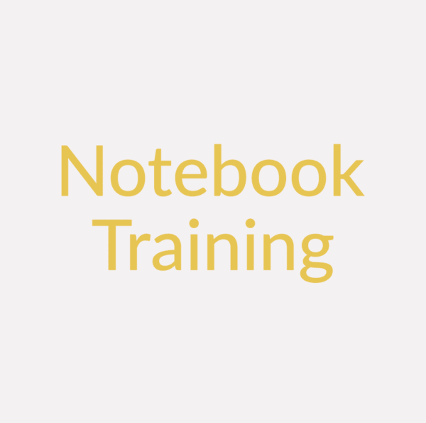 Notebook Training